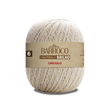 Barroco Natural 6 Brilho Ouro